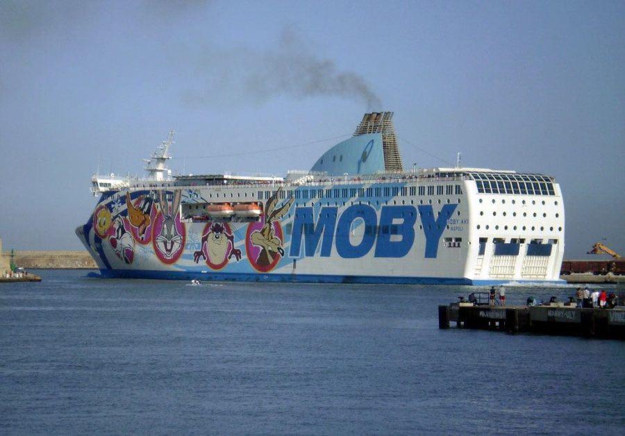 Gruppo Onorato traghetti per la Sardegna: Moby Aki
