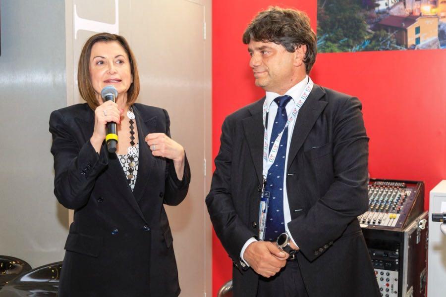 ITA Boat Show Ucina Carla De Maria