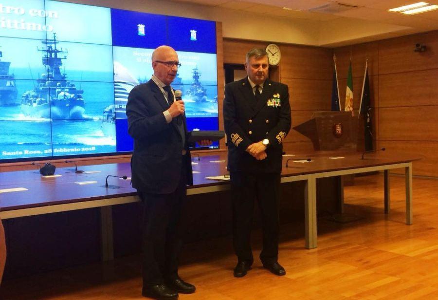 Incontro Marina Militare Cluster marittimo nazionale