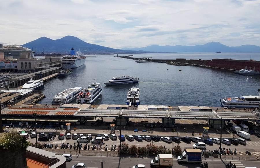 Porto Napoli visuale