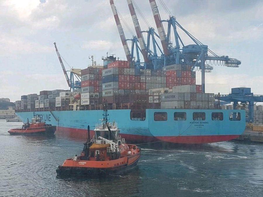 Maersk Senang Terminal Sech Genova