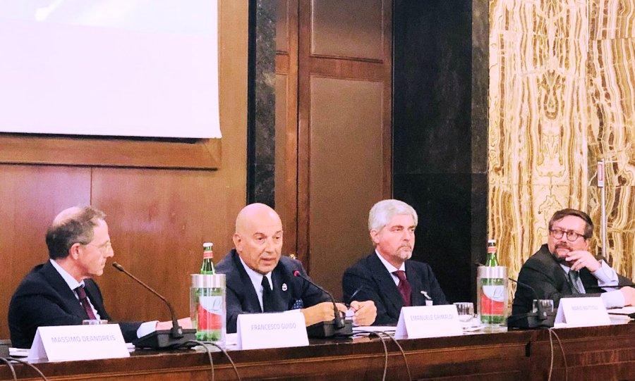 SRM Rapporto economia marittima Mario Mattioli Pietro Spirito