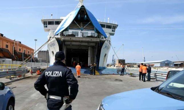Moby Kiss incidente sul lavoro porto Livorno morto operaio Vincenzo Langella