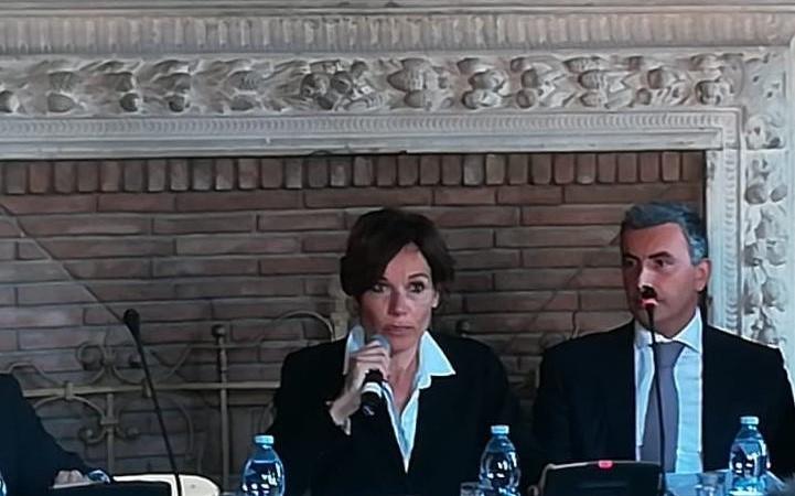 Marika Venturi , Dario Soria Assocostieri FORUM Vademecum Legalità