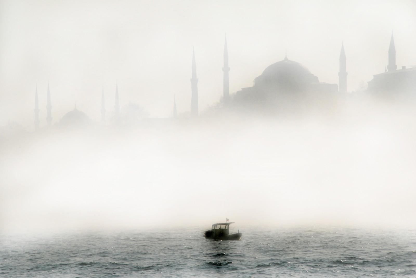 Bosforo nebbia